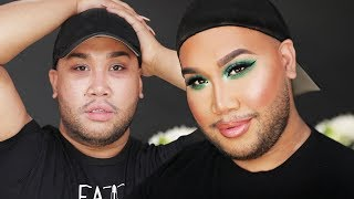 MAKEUP WITH MY FACIAL HAIR! | PatrickStarrr