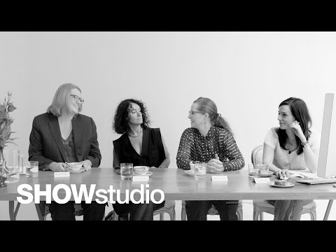 SHOWstudio: Fashion East Spring/Summer 2013 Panel Discussion