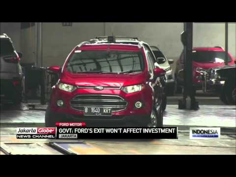 Government Confirm's Ford's Exit Won't Affect Indonesia's Investment