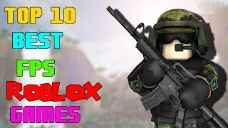 Top 10 Best FPS Roblox games (2016)