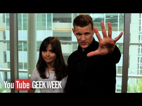 Doctor Who's Matt Smith & Jenna Coleman: 10 Whovian Facts You Need to Know (5-1) GEEK WEEK