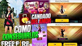 Asi Conseguiras Candados Del Amor y El Emote De Rosa - Evento San Valentin Free Fire
