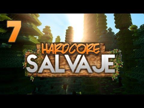 HARDCORE SALVAJE: EMBOSCADA ZOMBIE!! | Episodio 7 | MINECRAFT MODS SERIE