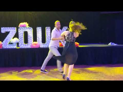 SSZF2018: Sarah & Bruno in performance ~ Zouk Soul