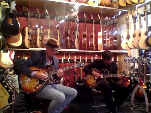 Rolf Jardemark & Erik Söderlind at No1 Guitarshop I
