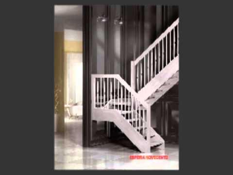 Scale mobirolo spa - scale a giorno, scale per interni, scale in legno - YouTube