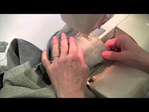 Ourlet videolike - Comment faire un ourlet de jean ...
