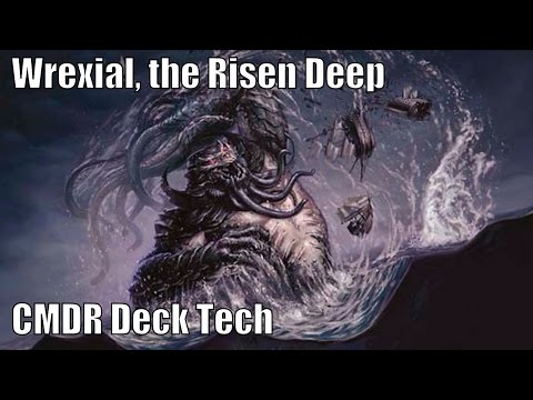 Josh's Wrexial, the Risen Deep CMDR Deck [EDH / Commander / Magic the Gathering]