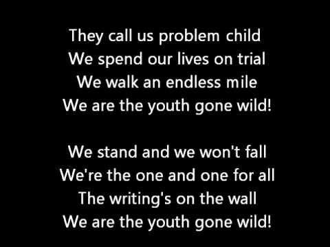 Skid Row - Youth Gone Wild Lyrics