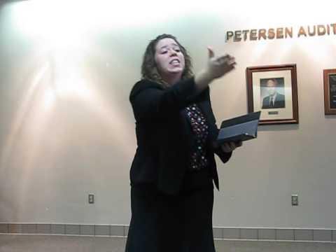 Ellen Johnson - Senior - Poetry - The Art Of Teaching - Kewanee High School Speech Team