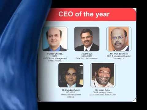Upinder Zutshi Of Infinite Computers & Ranbaxy CEO Arun Sawhney Win CEO Award