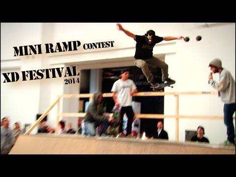 Mini Ramp Contest - XD Young Fest Skateboarding (2014)