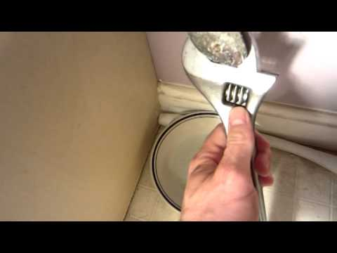 Replacing a leaky toilet shut off valve