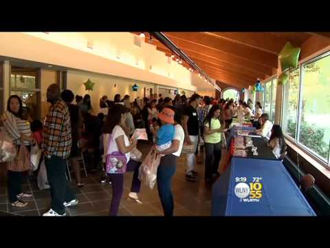Students 'Shop' For School Supplies At Essex County Event