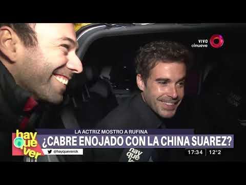 La China Suárez mostró a Rufina ¿se molestó Nicolás?