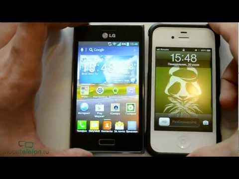 Обзор LG Optimus L5 (E612. E600) (review)