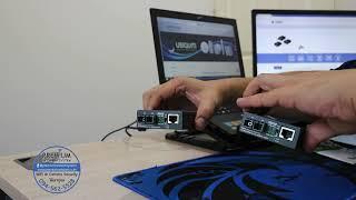 GT-802S: 10/100/1000Base-T to 1000LX Gigabit Media Converter