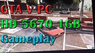 GTA V PC - HD 5670 1GB - Gameplay