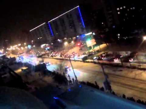 олимпийский огонь в оренбурге на чкалова