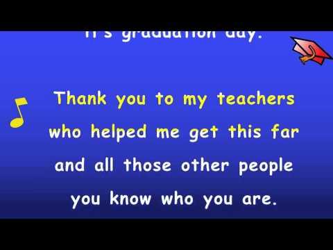 Kindergarten Graduation Song with Lyrics - Karaoke Sing Along