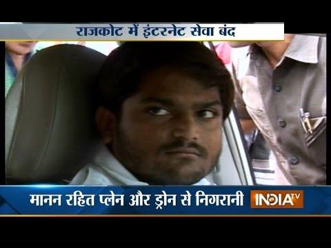 Mobile Internet Banned in Rajkot as Hardik Patel Warns Stir - India TV