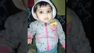 Cute baby (funny baby doll) Pakistani baby. 2018 baby girl . Pakistani cute baby .lovely doll .🇵🇰