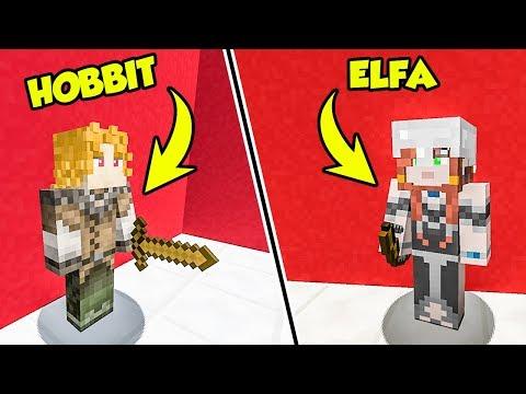 ELFI ed HOBBIT BRUCIANO il castello di Minecraft!