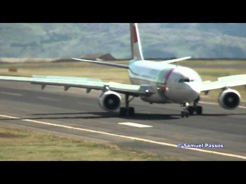 A330 Heavy Landing || Took all the runway to stop || Madeira