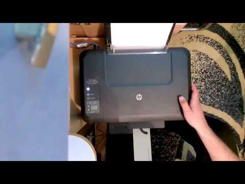 HP Deskjet 2515 Ink Level Reset. 650 Cartridge
