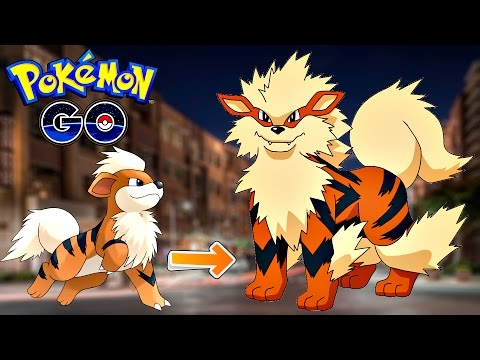 Pokemon Go / Покемон Го ► Эволюция покемона Growlithe ◓ Arcanine ► #60