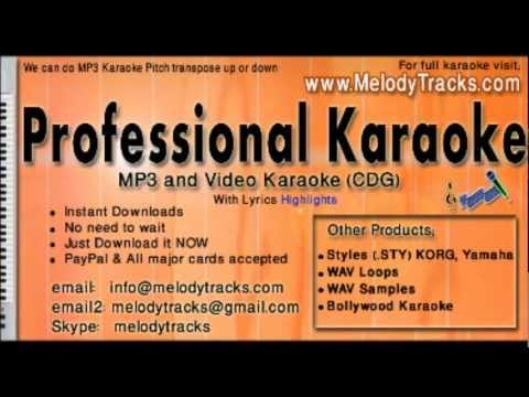 Mera mann kyon tumhe chahe - Alka Udit KarAoke - www.MelodyTracks...
