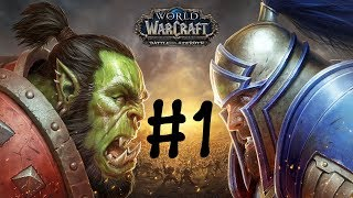 World of Warcraft - Battle for Azeroth - Alpha First Look and Questing!