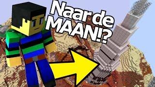 WE GAAN NAAR DE MAAN?!! - Minetopia - #417 | Minecraft Reallife Server