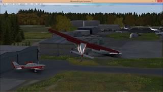 Microsoft Flight Simulator X- Turbulent Design free scenery first look