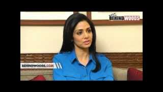 Sridevi Speaks About Ajith Kumar In English Vinglish  .avi