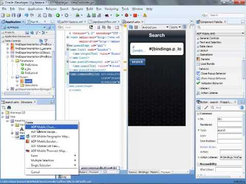 Developing Oracle ADF Mobile Application - With ADF Business Components Backend