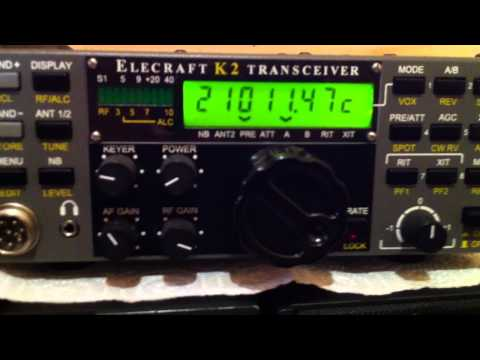 S9DX CW in Elecraft K2 audio and cristal filters switch IZ3LCI