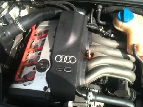 Audi A4 2 0 Benzin Klappern Beim Kaltstart Youtube