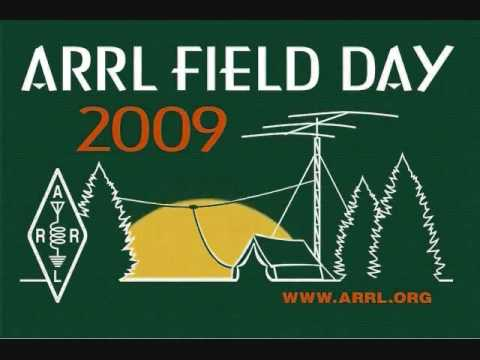 Amateur Radio Field Day 2009 animated logo