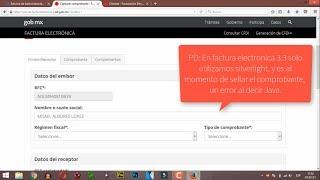 #13 SAT Nueva Factura electrónica 3.3 SAT - Como configurar Mozilla Firefox.