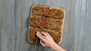 Study Snacks: How to Make Gluten-Free Granola Bars