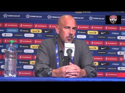 STEPHEN HART AT POST MATCH PRESS CONFERENCE