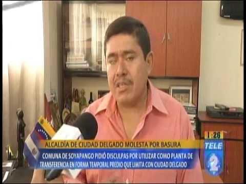 Problema de basura de Soyapango e Ilopango trasladado a Ciudad Delgado