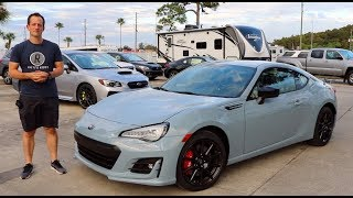 Why is the 2019 Subaru BRZ Series Gray the BEST one YET?