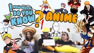 How Much Do You Know - Anime