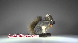 Squirrel Hand Puppet at CuddleWorks