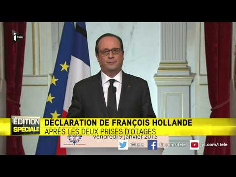 "François Hollande : ""La France a fait face"""