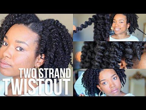 Two-Strand Twistout   Natural Hair