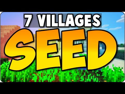 Minecraft Xbox 360, PS3 & Wii U Seed Review Showcase- 7 VILLAGES & TEMPLE - Console Edition Gameplay