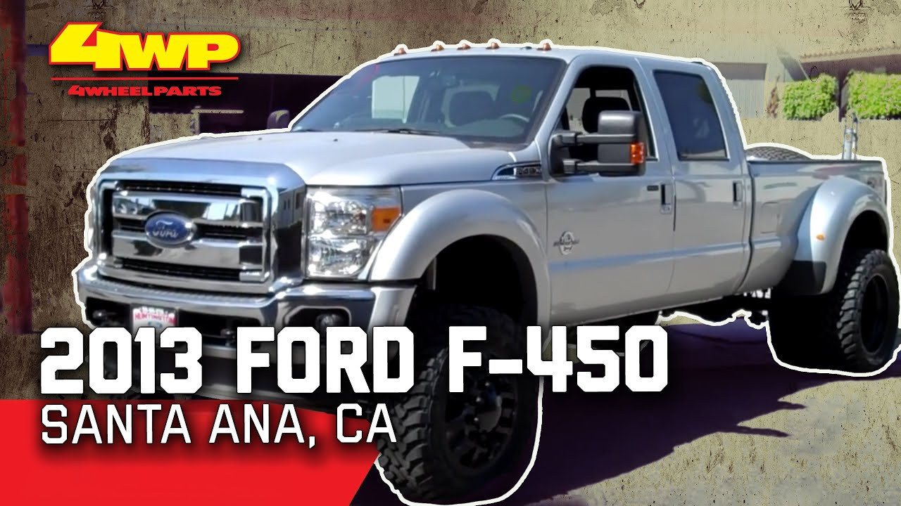 F350 Dually Wheels >> Ford F450 Superduty Dually Parts Santa Ana CA 4 Wheel Parts - YouTube
